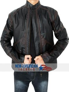 """""""Limited Timer Offer"""" Captain America Sebastin Stan Bucky Barnes jacket is now available at NewAmericanJackets store with amazing Valentine's Day discount Sale."""
