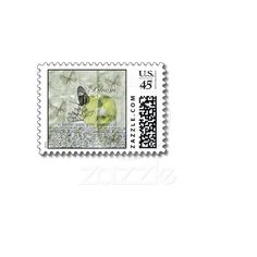 Inspired Butterfly Bloom Postage Stamps from Zazzle.com