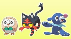 Meet Pokémon Sun and Moon's starters in new trailer before November's launch (update) - Polygon