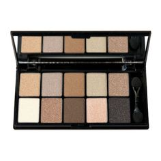 NYX Cosmetics Eye Shadow Palette 10 Color, Caviar and Bubbles, 0.49 Ounce    Price: $9.99