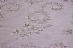Hand beaded bridal lace in Off White Beaded by fancyfabricsonline