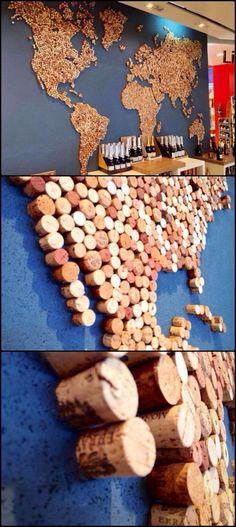 43 DIY Wine Cork Craft Ideas: Upcycle Wine Corks in the .- 43 DIY Weinkorken Handwerk Ideen: Upcycle Weinkorken in die Dekorkunst – Diyideasdecoration.club 43 DIY wine cork craft ideas: Upcycle wine corks in the decor art art corks - Upcycled Crafts, Diy And Crafts, Simple Crafts, Felt Crafts, Pot Mason Diy, Mason Jar Crafts, Craft Projects, Projects To Try, Garden Projects