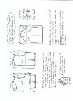 Patrón Vestido de invierno con corte bajo el pecho - Patrones gratis