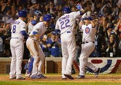 Chicago Cubs Game 6 and last against LA Dodgers (4-2), Cubs take NLCS 2016