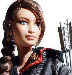 The Katniss Barbie Doll Is Now A Reality  [With unbounded thanks to Anastasia Tuckness!]