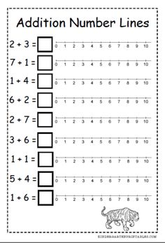 math worksheet : 1000 ideas about number lines on pinterest  math fractions and  : Addition With Number Line Worksheet
