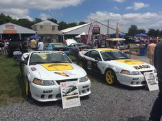 Saleen Coupe and Convertible All Fords Fairgrounds 2015 Display