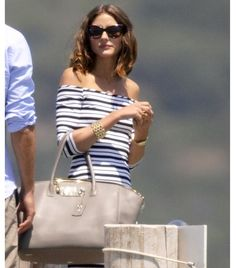 The Olivia Palermo Lookbook : Olivia Palermo and Johannes Huebl in Saint Tropez
