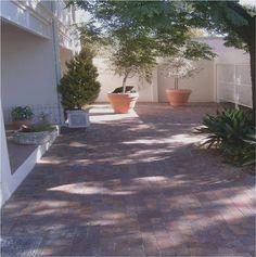Rustic Blend Paver Brick Paving, Work Hard, Sidewalk, Rustic, Plants, Brick Pavers, Country Primitive, Working Hard, Rustic Feel