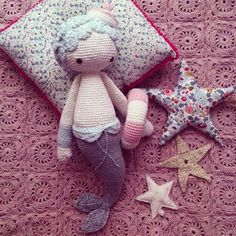 MICI I the mermaid made by didouuuuu / crochet pattern by lalylala