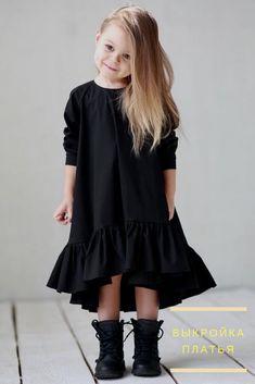выкройка детского платья с оборкой https://patterneasy.com/ready-patterns/detskoe-platie-s-oborkoy