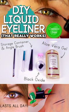 DecorateYou: 2 Ingredient DIY Long Lasting Liquid Eyeliner
