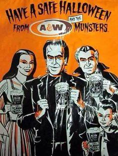 Halloween AD | Munsters halloween ad