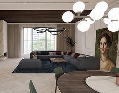 Interior Architecture, Interior Design, Loft, Behance, Classy, Profile, Couch, Gallery, Furniture