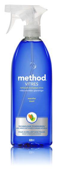 Method - Nettoyant Vitres à la Menthe - 828 ml