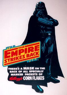 Kellogg's Darth Vader Sign - Star Wars Collectors Archive