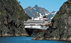 Historical Highlights - Norwegian Fjords and Scotland is a new voyage from Hurtigruten. Romantic Vacations, Romantic Getaway, Singles Holidays, Harbor Town, Group Travel, Travel News, Midnight Sun, Cruise Travel, Travel Couple
