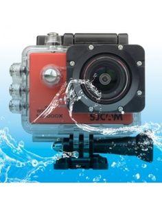 SJCAM SJ5000X WiFi Ultra HD 2K 2.0 inch LCD Sports Camcorder with Waterproof Case, 170 Degrees Wide Angle Lens, 30m Waterproof(Red)