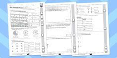 Year 4 Maths Assessment: Fractions Term 2