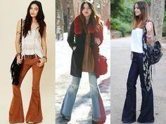 Bellbottom Flare Pants Fashion Look