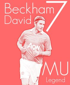 Manchester United Players| Posters by Georgian-Sorin Maxim, via Behance
