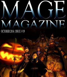 MAGE Magazine Issue 19 MAGE Magazine is a monthly magazine produced by artists in the virtual world. This month's issue features the art of Ozym. Monthly Magazine, Virtual World, Second Life, Magazine Covers, Videos, Comic Art, Artists, Video Clip, Cartoon Art