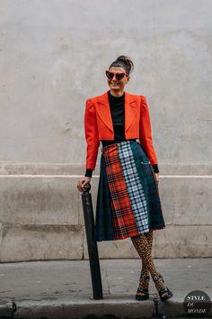 Giovanna Battaglia by STYLEDUMONDE Street Style Fashion Photography FW18 20180306_48A0523
