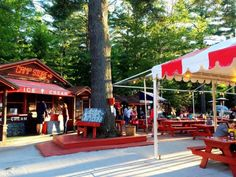 13. Visit a remote restaurant that comes to life during the summer season.