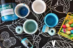 blick7: Gips einfärben: Acrylfarbe, Ostereierfarbe, Farbpigmente
