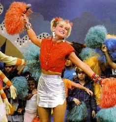 Xuxa- 90's show. Hilarious.