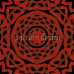 Orient Express Red by Matthias Hennig available for download on patterndesigns.com Vektor Muster, Orient Express, Oriental Design, Vector Pattern, Surface Design, Medieval, My Design, Gothic, Designs