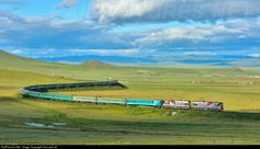 RailPictures.Net Photo: 009 Mongolian Railway 2ZAGAL at Bayan, Mongolia by Temuulen.B