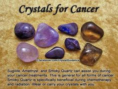 Crystals for cancer treatment