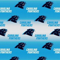 Carolina Panthers Fabric - Blue - NFL - 100% Cotton High Quality Fabric- by Fabric Traditions by QuiltsOnTheFly on Etsy