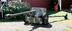 The 7.5 cm Pak 40 (7,5 cm Panzerabwehrkanone 40) was a German 75 millimetre anti-tank gun developed in 1939-1941 by Rheinmetall and used during the Second World War. Pak 40 formed the backbone of German anti-tank guns for the latter part of World War II.