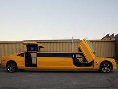Australian Coachbuilder Crafts a Gullwing Door Bumblebee Camaro Limo