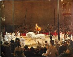 George Bellows Art | George Bellows The Circus