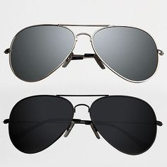 89ad8d3b3e8 Fashion Mens Classic Aviator Sunglasses HD Polarized Mirror Glasses Eyewear  Black Sunglasses