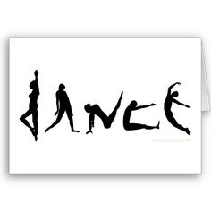 Dance Silhouette. Want to do this with pictures of B someday.