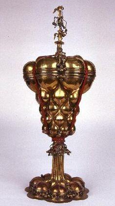 Rieti: Bott. ungherese sec. XV, Reliquiario a vaso con coppa baccellata, BEWEB Portal