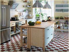 Free-Standing-Kitchen-Cabinets-IKEA – Free Standing Kitchen Cabinets: Securing the Cabinets Firmly -