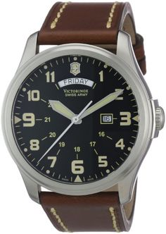 Victorinox Swiss Army Men's 241290 Infantry Vintage Day/Date Watch: Watches: Amazon.com