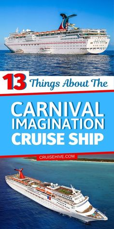 Things to know about the Carnival Imagination which is a cruise ship operated by Carnival Cruise Line. #cruise #cruisetips #carnivalcruise #cruiseships #cruisetravel