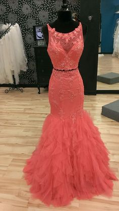 Charming Prom Dress,Mermaid Prom Dresses,Beading Appliques Prom Dress,Long Evening Dress,Formal Gown