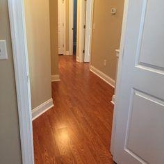 Red Oak Gunstock Stain Traditional Hardwood Floor