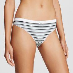 Women's Cotton Bikini Briefs Mint Gel XL - Xhilaration