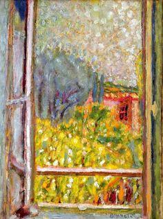 La petite fenêtre. / The Small Window. / By Pierre Bonnard, 1946.