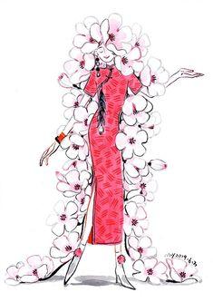 Female Character Design, Character Design Inspiration, Character Art, Barbie Fashion Sketches, Origami, Chinese Artwork, Posca Art, Pattern Illustration, Art Portfolio