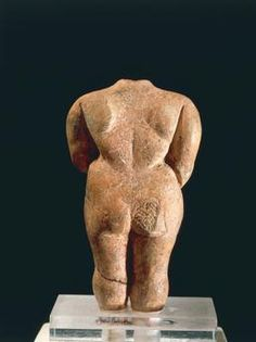 Prehistory, Malta, Neolithic. Terracotta figurine known as the Venus of Malta. From the Temple of Hagar Qim. La Valletta, National Museum Of Archaeology