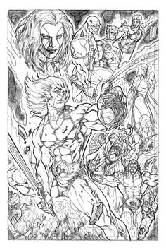 the thundercats - Thundercats Coloring Pages To Print